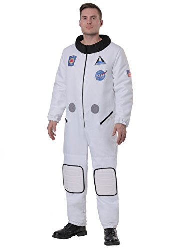 Plus Kostüm Für Astronaut Erwachsenen - Plus Size Herren Deluxe Astronaut Kostüm - 2X