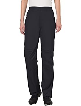 VAUDE Women's Drop Pants II - Pantalón color black, talla 46Short