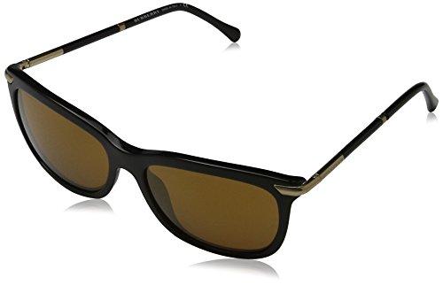 BURBERRY Damen BE4185 Sonnenbrille, Schwarz (Black 30016H), One size (Herstellergröße: 57)