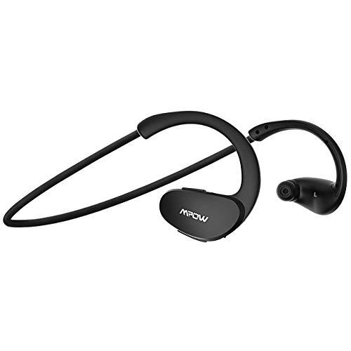 Mpow Cheetah Bluetooth Kopfhörer, Sportkopfhörer Wasserdicht, 8 Stunden Spielzeit/Bluetooth 4.1/AptX Stereo-Sound/Mikrofon, Sport Kopfhörer Kabellos Joggen/Laufen/Fitness für iPhone Samsung Android