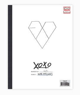 KPOP , EXO , XOXO , 1ST ALBUM [ KISS ver ] (Album 1. Kiss)