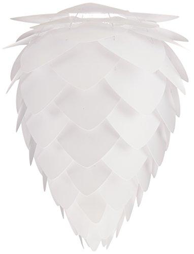 Vita 02019 Conia Lampe Suspension Polycarbonate/Polypropylène Blanc Taille Petit