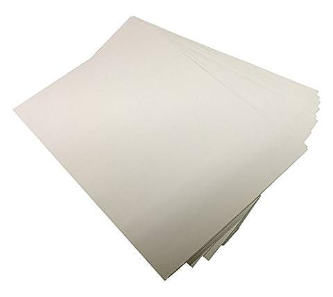 House of & Papier A6160gsm sterben Karte–Weiß (Pack von 300Blatt)
