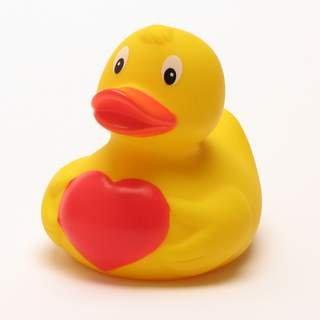 Ente mit Herz