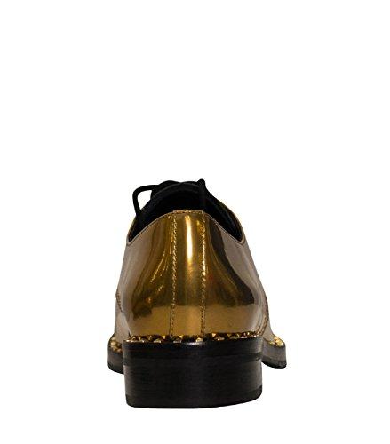 ASH , Chaussures de ville à lacets pour femme antic gold