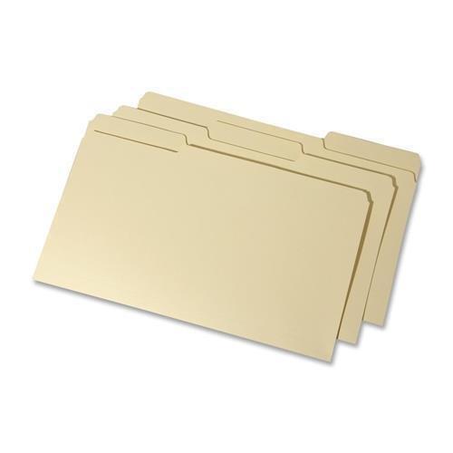 Skilcraft 7530015833819 Ordner, Innenhöhe Oben Reiter, rechtlich - 21,6 x 35,6 cm - 1/3 Tab Cut - 100 / Box - 11 Pt. - Manila - Tabs Rechtliche