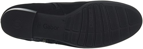 Gabor Comfort Sport, Bottes Chelsea Femme Noir (Schwarz Micro)