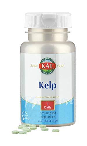 KAL KELP - 225mcg vegetarisches JOD 250 Tabletten 1x täglich