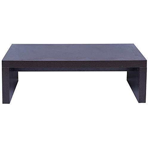 Mobili Rebecca® Table Basse Table D'Appoint Salon Marron Foncé Bois Design Moderne (Cod. RE6021)
