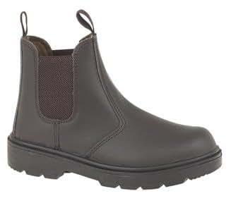 Safety Dealer BootSafety Toe Cap Steel Midsole - size Mens Size 4