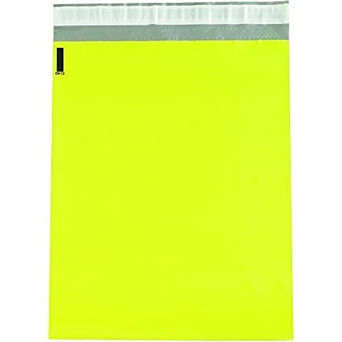 Box bcpm1419y Poly Versandtaschen, 141/5,1x 48,3cm gelb (100Stück)