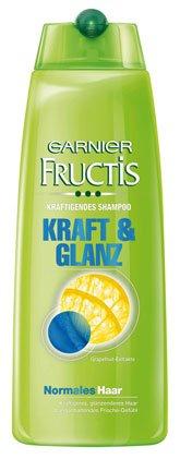 Garnier Fructis Kraft & Glanz Kräftigendes Shampoo, für normales Haar - 250 ml