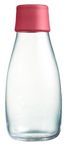 Preisvergleich Produktbild Retap Wasser Flasche 03mit Deckel violett, Raspberry