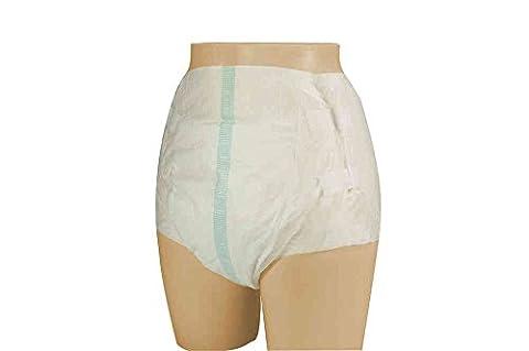 VIDIMA Inkontinenzslips mit Klebestreifen in der Größe XL | 1 Stück | Erwachsenen-Windel für leichte/mittlere Inkontinenz & Blasenschwäche | Hüftumfang: 135 – 175 cm | diskrete & bequeme Windelhose