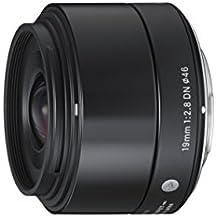 Sigma 19mm f2,8 DN Objektiv (Filtergewinde 46mm) für Sony E-Mount Objektivbajonett schwarz