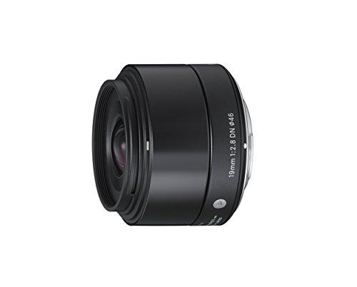 Sigma 19mm F2,8 DN Art Objektiv (46mm Filtergewinde) für Sony-E Objektivbajonett schwarz