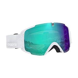 Salomon Unisex Xview Photo Skibrille, für alle Wetterverhältnisse, blaue Photochrome Multilayer-Scheibe (auswechselbar), Airflow System