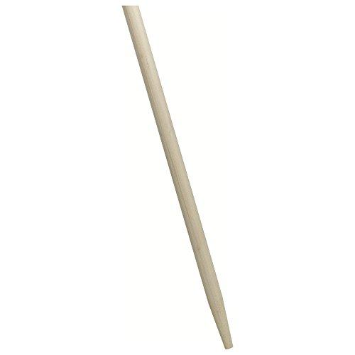 Nölle Besenstiel Holz 140 cm, extra stark 28 mm, mit Konus (Gerätestiel)