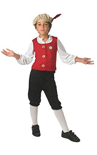 Rubie 's Offizielles Tudor Boy Kostüm Jungen Medium