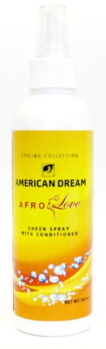 American Dream - AD191 - Afro Love - Spray Brillance avec Après-Shampoing - 250 ml
