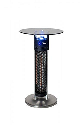 Elektrischer Terassenheizer Bimar SE1600.EU Heizstrahler und Stehtisch in einem 1600 Watt