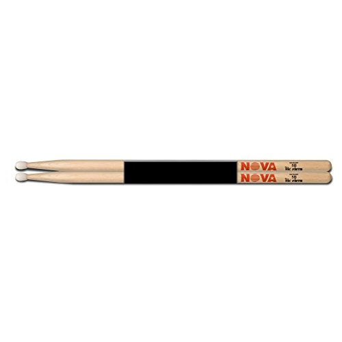 drumsticks 5b Vic Firth vfn5bn Nova 5B HICKORY Nylon Tip Drumsticks
