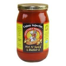 Cajun Injector Hot n Spicy Butter Injectable Marinade (3 Pack) by Cajun Injector