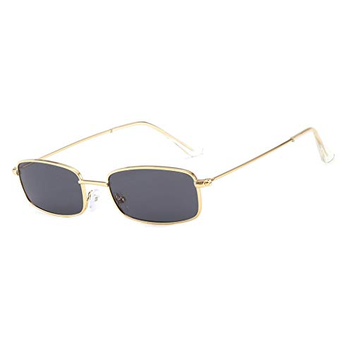 Yncc Sonnenbrillen, Damenmode Jelly Sunshade Sonnenbrillen Integrated Candy Color Glasses, Sport-Sonnenbrille Big Frame Sonnenbrille Eyewear Retro Brille Metallbordüre Anti-UV (B)