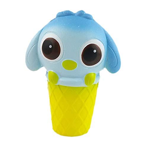 Fulltime E-Gadget Dekompressionsspielzeug, Squishies Entzückendes Karikatur-Tier-langsames steigendes Sahneduft-Dekompressions-Spielzeug -