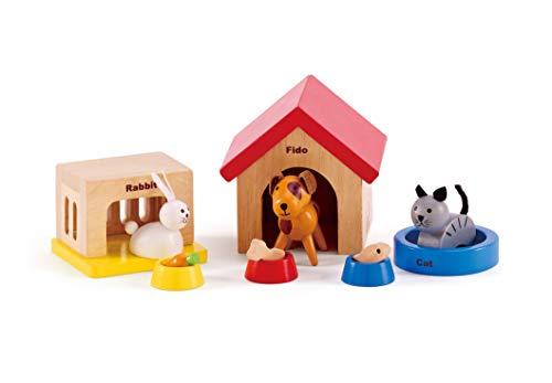 Hape Haustiere Holz Zubehör