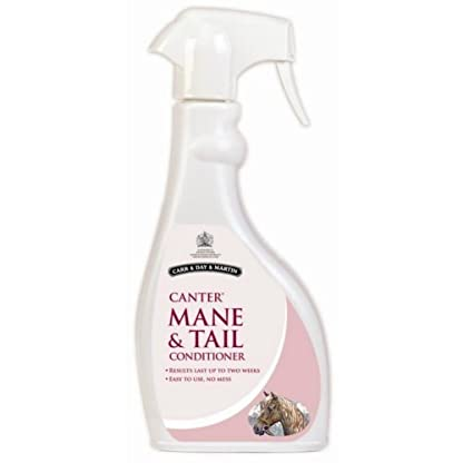 Horse Mane & Tail Conditioner Spray For Glossy Tangle-Free Finish. Carr, Day, Martin 1