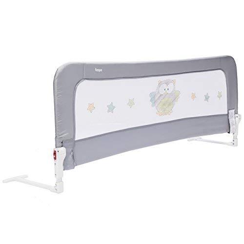 ZOPA Bettgitter Monna - Bettschutzgitter für Kinder ab 18 Monaten bis 5 Jahren - Rausfallschutz mit...