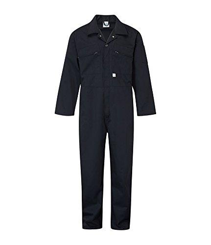 Castle clothing 366 -tuta da lavoro da donna, blu, 38' (97 cm)