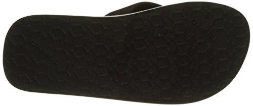 O'Neill Fb Imprint Pattern Flip Flops, Chaussures de Plage et Piscine Garçon Noir (Black Out)