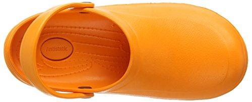 Toffeln Eziklog Unisex-Erwachsene Sicherheitsschuhe Orange (Orange)