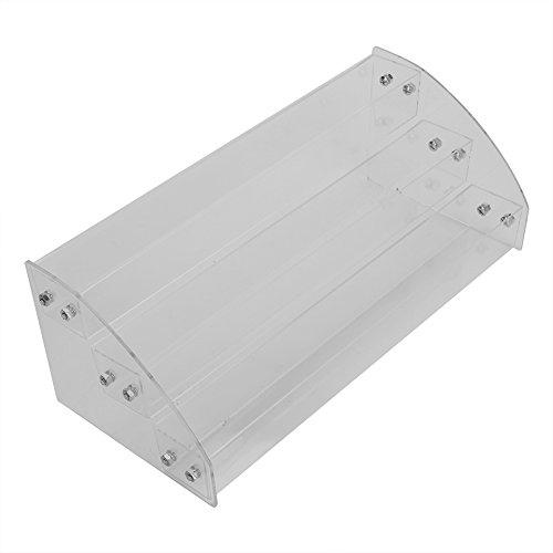 Zerone Multi-Lagen Acryl Display Stand Rack Organizer kosmetische Aufbewahrungsbox(#1)