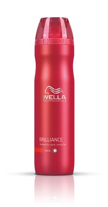 Wella Brilliance Shampoo for Fine to Normal Colored Hair, 33.8oz by Wella
