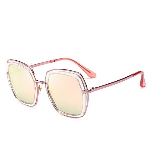 Polarisierte Sonnenbrille Frauen Metall Katzenaugen Helle Film Frauen Uv-schutz, Geeignet Für Dekoration, Sonnenschirm, Reise, Fahren.Geeignet Für Eine Vielzahl Von Gesichtstypen ( Color : Pink )