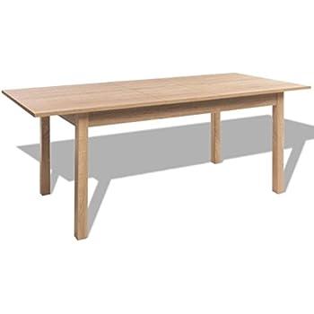 X 70 De Extensible Manger 76 Salle Table 120160 À Clair Vidaxl Marron 5 Cm qzMSVUp