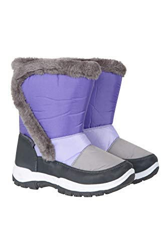 Mountain Warehouse Dash Kids Snowboots - Fleece Lined Winter Shoes
