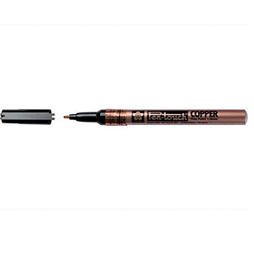 Sakura Pen-Touch Calligrapher Paint Marker, feine 1,0mm-kupfer-Single