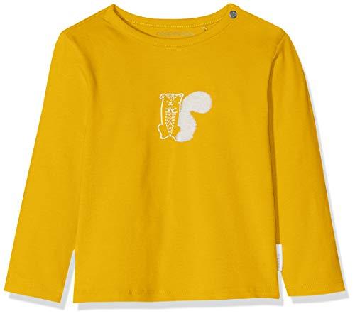Noppies Unisex Baby U Tee Slim ls Quibor T-Shirt, Gelb (Mineral Yellow P267), (Herstellergröße: 80)