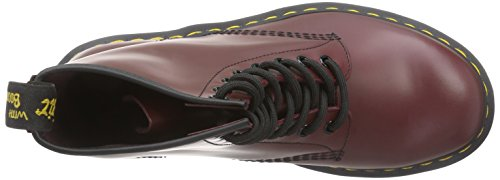 Dr. Martens 1460 Smooth, Scarpe Stringate Basse Brogue Unisex – Adulto Rosso (1460 Smooth 59 Last Cherry Red)