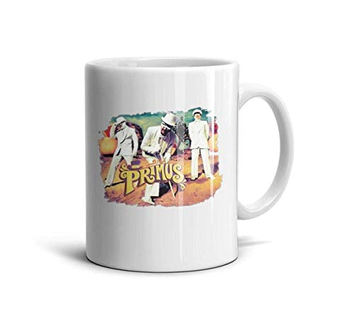 BHWYK Melody Cool Special White Daily Use Inspirational Rock Primus-Poster- Coffee Mug TeaMugs Brithday Gift Office Lovers Home Decor Engagements Anniversaries Cup,White-16,One Size (Primus Poster)
