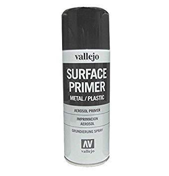 Primer Spray Vallejo Nero (400ml)