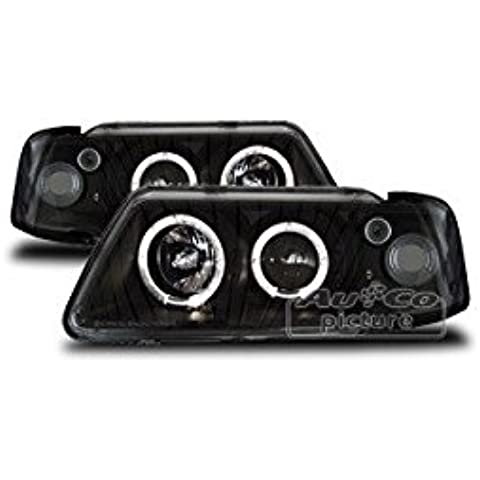 au100003 Projector con 2 Angel Eyes Audi A3 (8L)