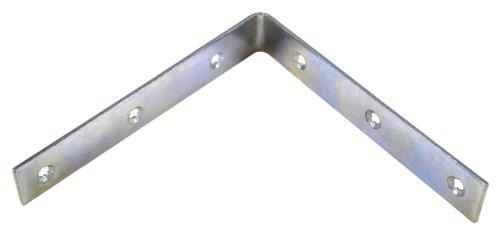 Bulk Hardware Winkel, verzinkt, 150mm, 10Stück