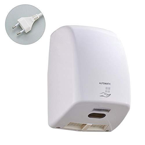 mollylover Händetrockner, automatischer elektrischer Hochgeschwindigkeitshandtrockner, an der Wand befestigter Händetrockner für Toiletten Hotelbad