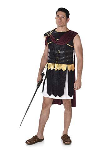 Karnival 82062 - Kostüm römischer Soldat, Herren, mehrfarbig, ()