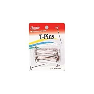 T Pins For Pinning Wigs On Foam Head Body Care / Beauty Care / Bodycare / Beauty Care